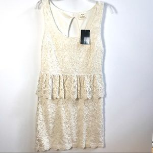 NEW Urban Outfitters lace dress sz L